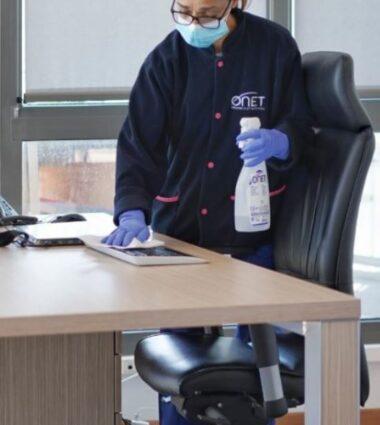 Onet Propreté Agent de nettoyage bureaux tertiaire