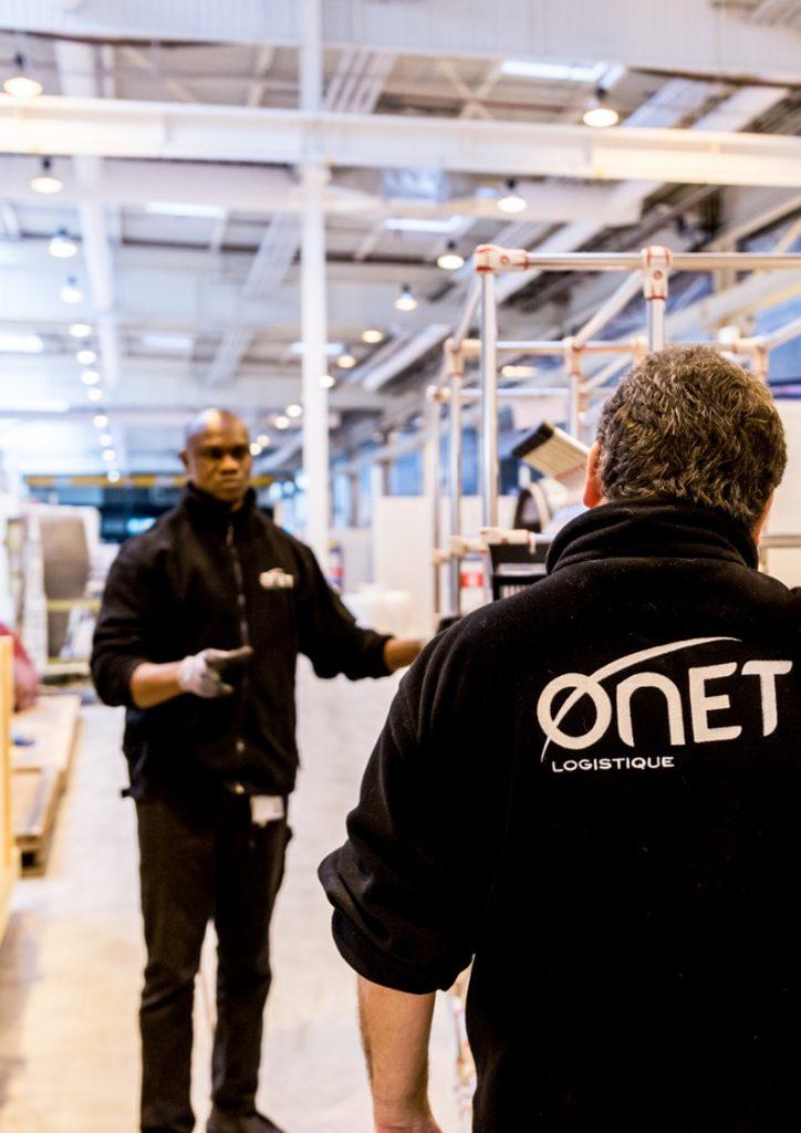 Réunion d'organisation - Responsable logistique Onet Logistique