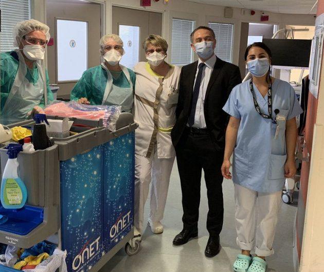 CH de Douai & Valenciennes : Nos agents au coeur du dispositif de lutte contre le COVID-19