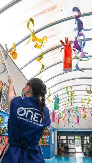 Opération désinfection de haute précision pour la rentrée des élèves de Montpellier