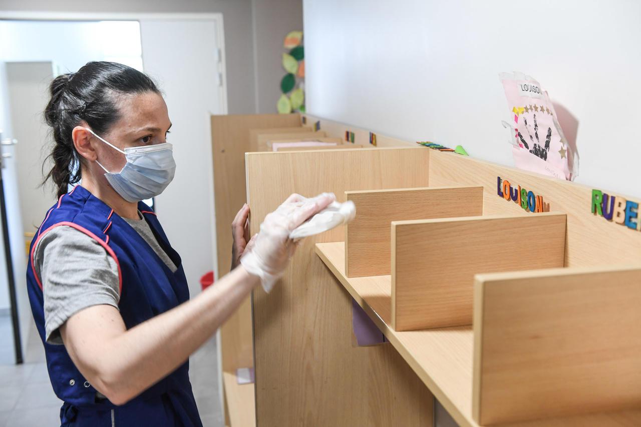Onet Propreté - offre désinfection dans une école à Montpellier