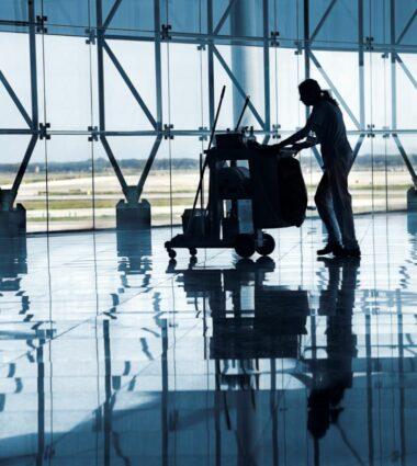 Onet Propreté dans le secteur du transport aérien