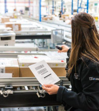 opération d'identification, de contrôle et de traçabilité de marchandises
