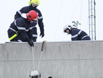 Onet Sécurité - Pompiers en exercice