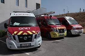 Onet sécurité - Camions de pompiers