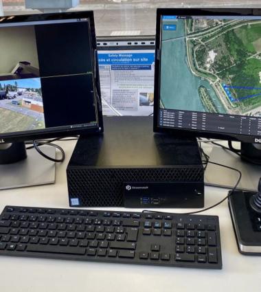 Onet sécurité par drone - qualité de l'observation par drone