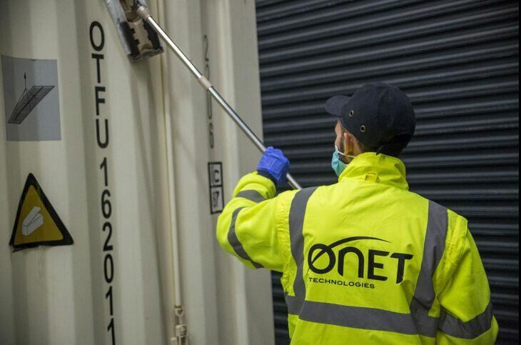 Détection radioactivité sur Conteneur - Onet Technologies