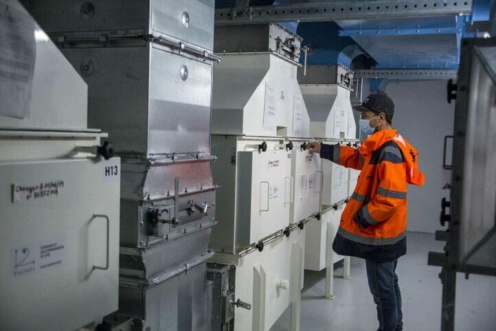 Vérification de machines sur site Sogeval - Onet Technologies