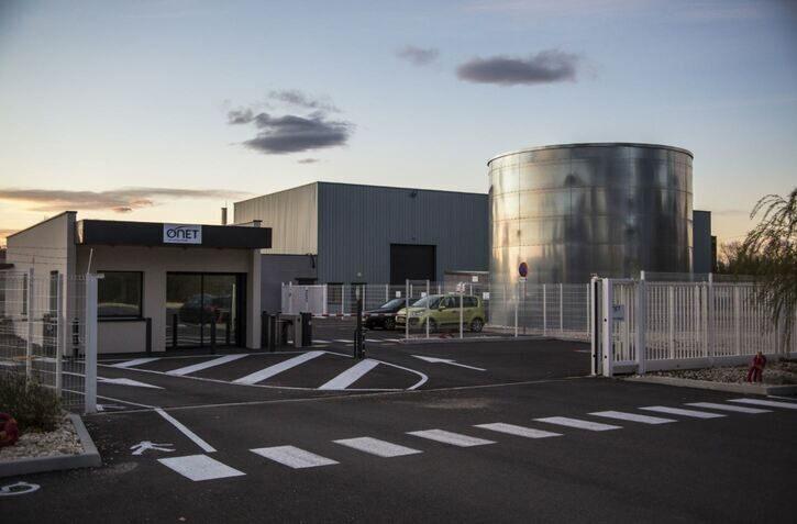 Entrée de bâtiments Sogeval - Onet Technologies