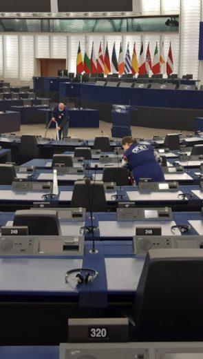 Onet fait son entrée au Parlement européen de Strasbourg