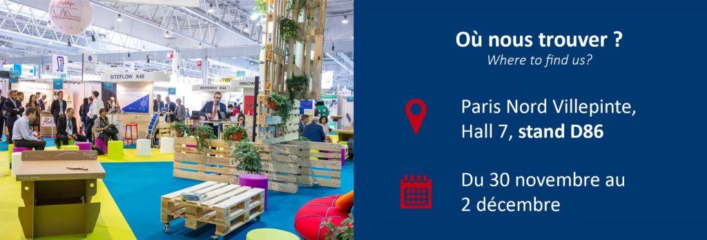 Ou trouver le stand Onet Technologies de la World Nuclear Exhibition
