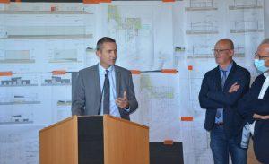 Marc Fesneau - Ministre et Alain Gauvin Onet Technologies
